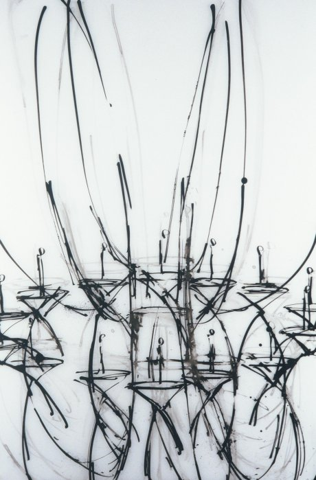 Chandelier Series on Mylar